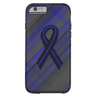 Blue Line fino Funda De iPhone 6 Tough