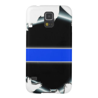 Blue Line fino Carcasas De Galaxy S5
