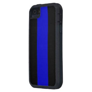Blue Line fino iPhone 5 Fundas