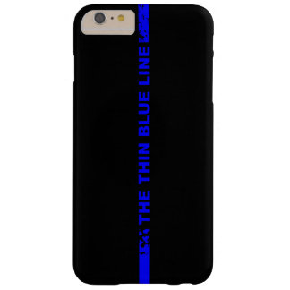 Blue Line fino Funda Barely There iPhone 6 Plus