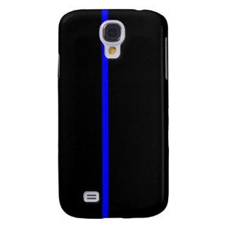 Blue Line fino Funda Para Galaxy S4