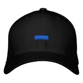 Blue Line fino Gorras De Beisbol Bordadas