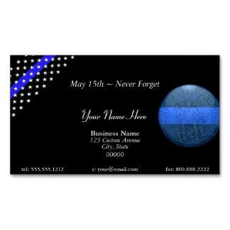 Blue Line fino hermoso limpia San Miguel Tarjetas De Visita Magnéticas (paquete De 25)