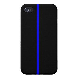 Blue Line fino iPhone 4/4S Carcasas