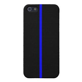Blue Line fino iPhone 5 Funda