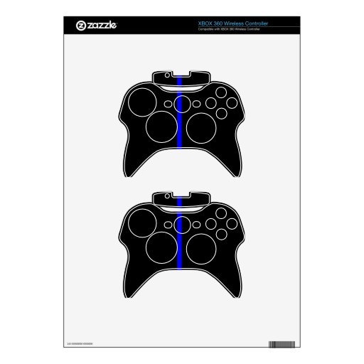 Blue Line fino Mando Xbox 360 Skins