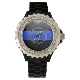 Blue Line fino - monograma Relojes