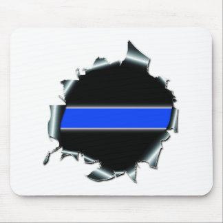 Blue Line fino Mouse Pad