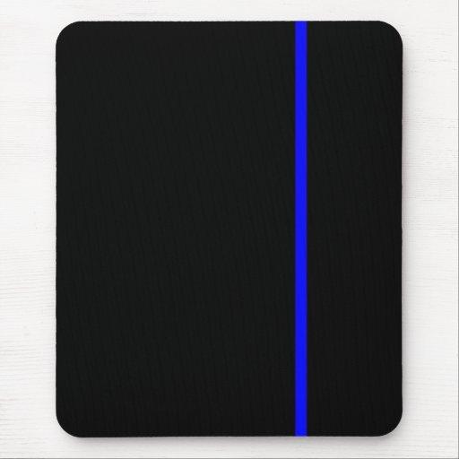 Blue Line fino Mousepad Alfombrillas De Raton