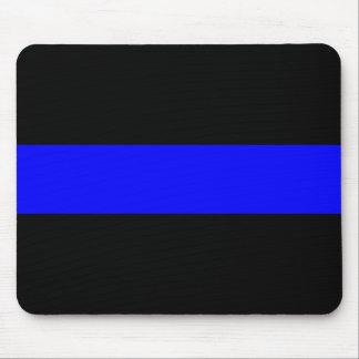 Blue Line fino Mousepad Tapete De Ratones