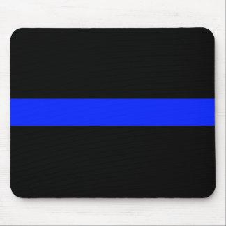 Blue Line fino Mousepad Tapetes De Ratón
