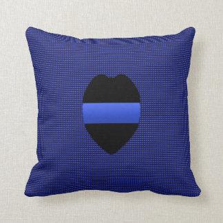 Blue Line fino - permutable Cojín