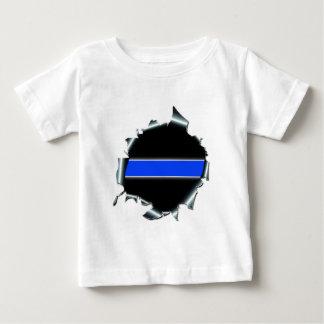 Blue Line fino Playera