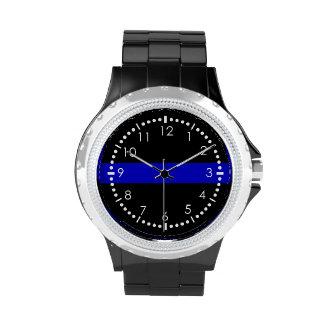 Blue Line fino Reloj De Mano