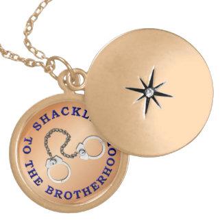 Blue Line fino - Shackled a la fraternidad Medallones