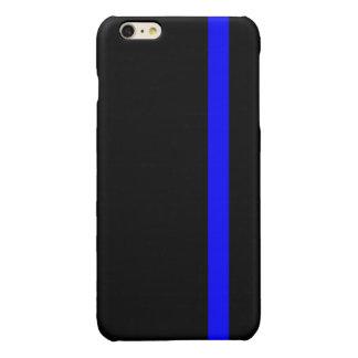 Blue Line fino simbólico en negro