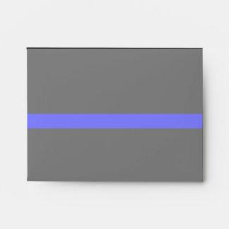 Blue Line fino simbólico Sobres