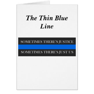 Blue Line fino Tarjeton