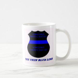 Blue Line fino Taza