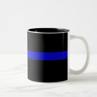 Blue Line fino Tazas De Café