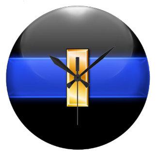 Blue Line fino - teniente Bar del oro Reloj