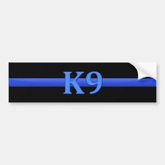 Blue Line fino y K9 Pegatina Para Auto