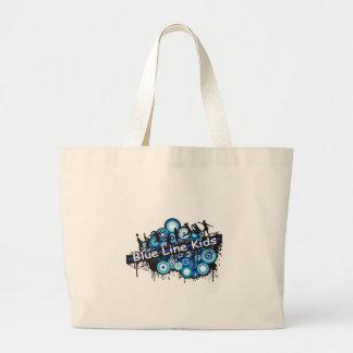 Blue Line Kids Jumbo Tote Bag