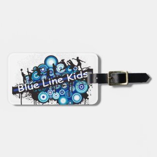 Blue Line Kids Tags For Luggage