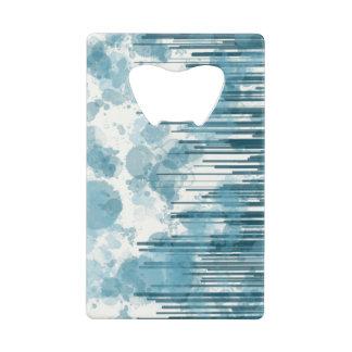 Blue Line Splash Card Opener