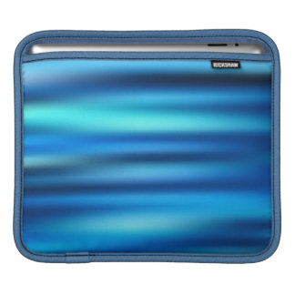 Blue Line Tussle iPad Sleeve