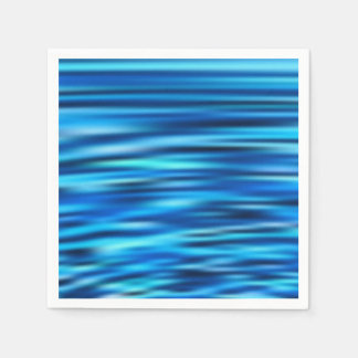 Blue Line Tussle Paper Napkin
