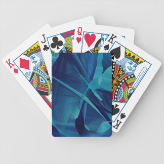Blue Linear Mesh Deck Of Cards
