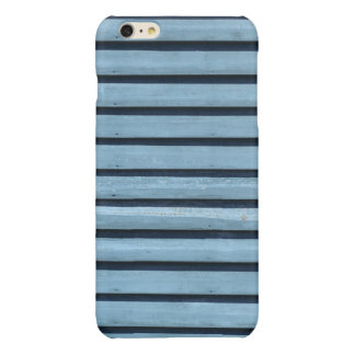 """""""Blue Lines"""" iPhone 6 Plus Glossy Finish Case Glossy iPhone 6 Plus Case"""