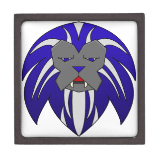 Blue Lion Gift Box