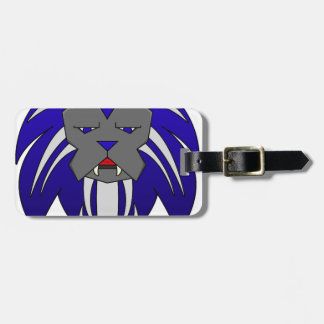 Blue Lion Tags For Bags