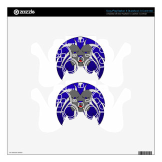 Blue Lion PS3 Controller Skin
