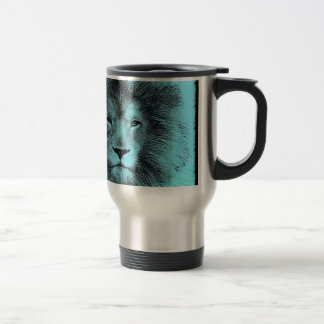 Blue Lion Travel Mug