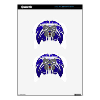 Blue Lion Xbox 360 Controller Skins