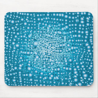 Blue Liquid Background Mouse Pad