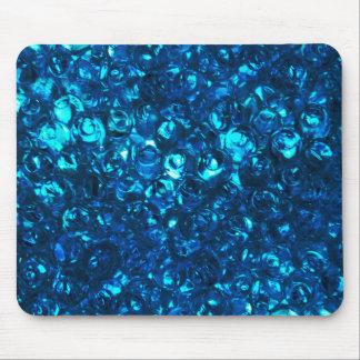 Blue Liquid Ocean Pearls Mouse Pad