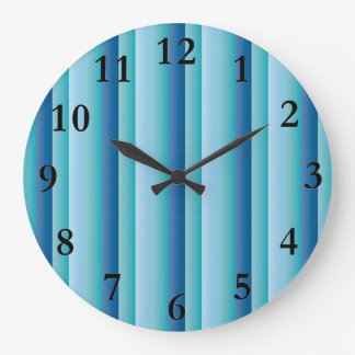 BlueLists Large Clock