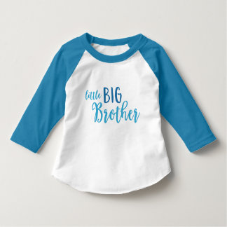 Blue Little Big Brother T-Shirt