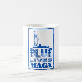 Blue Lives MAGA Coffee Mug
