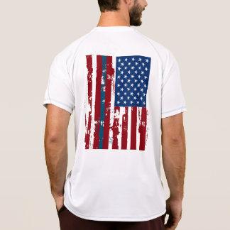 Blue Lives Matter Independence Day T Shirt