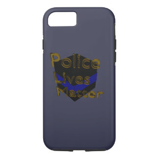 BLUE LIVES MATTER iPhone 7 CASE