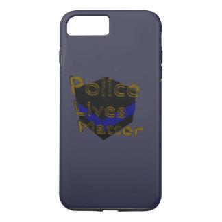 BLUE LIVES MATTER iPhone 7 PLUS CASE