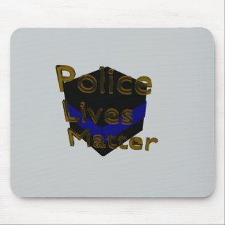 BLUE LIVES MATTER MOUSE PAD