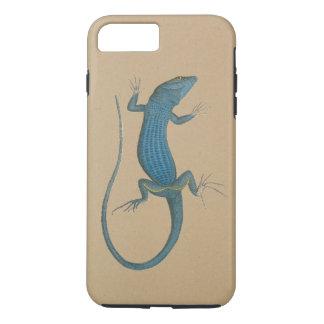 Blue lizard, geko, Capri - Faraglioni iPhone 7 Plus Case