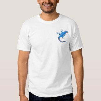 blue lizard t shirt