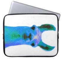 Blue Llama Graphic Computer Sleeve